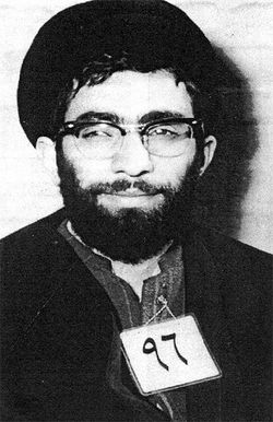 Sayyid Ali Khamenei Arrested by Savak.JPG